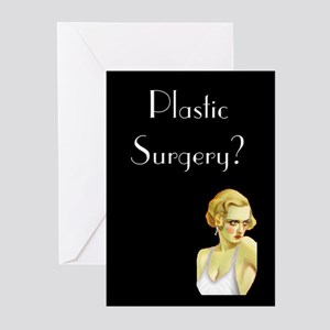 Plastic Surgery Greeting Cards (Pk of 20)