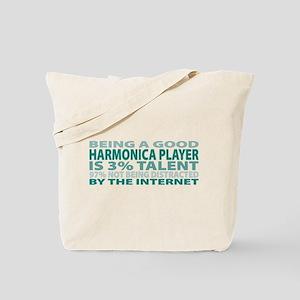 Good Harmonica Player Tote Bag