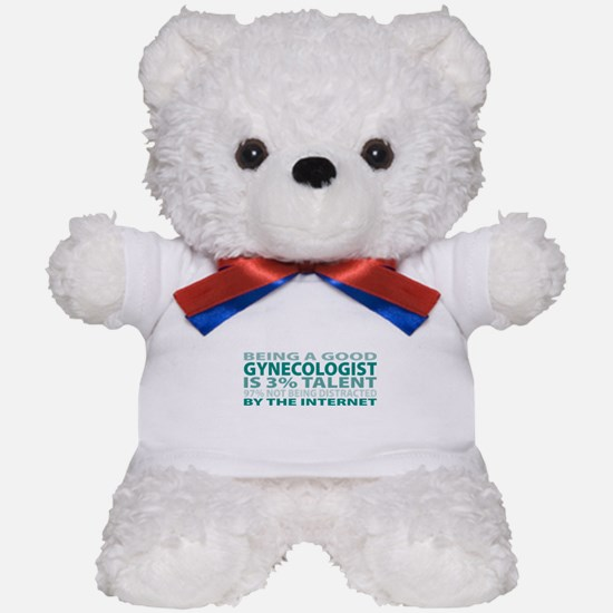 Good Gynecologist Teddy Bear