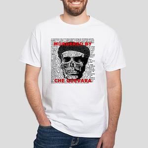 Che Guevara Kills Design White T-Shirt