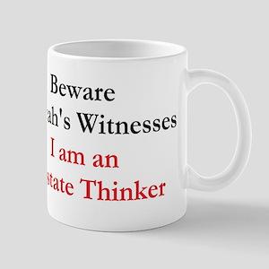 Apostate thinker Mugs