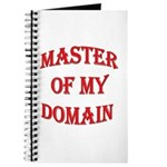 Master of My Domain Journal