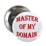 """Master of My Domain 2.25"""" Button (10 pack)"""