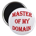 """Master of My Domain 2.25"""" Magnet (10 pack)"""