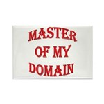 Master of My Domain Rectangle Magnet