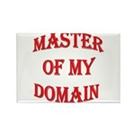 Master of My Domain Rectangle Magnet (10 pack)