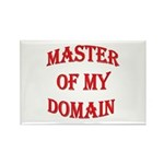 Master of My Domain Rectangle Magnet (100 pack)