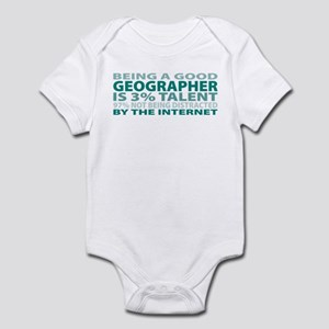 Good Geographer Infant Bodysuit
