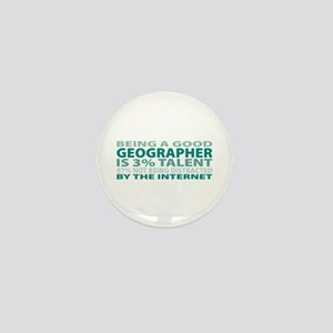 Good Geographer Mini Button