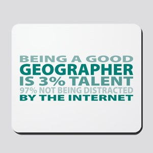 Good Geographer Mousepad