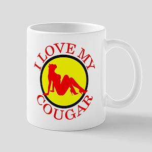 I LOVE MY COUGAR SHIRT AND T- Mug