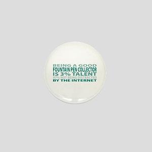 Good Fountain Pen Collector Mini Button