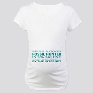 Good Fossil Hunter Maternity T-Shirt