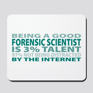 Good Forensic Scientist Mousepad