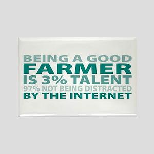 Good Farmer Rectangle Magnet