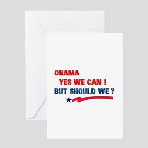Political T shirts and gifts Greeting Card