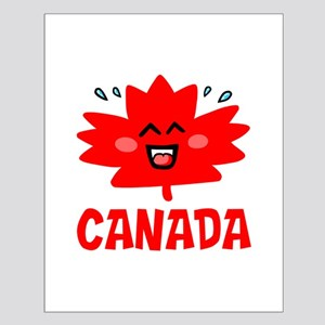 Canadian Maple Leaf Small Poster