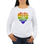 Kiss Me I'm Queer Women's Long Sleeve T-Shirt
