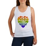 Kiss Me I'm Queer Women's Tank Top