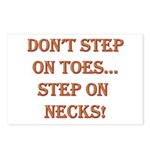 Step On Necks Postcards (Package of 8)
