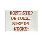 Step On Necks Rectangle Magnet (10 pack)