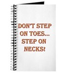 Step On Necks Journal