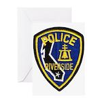 Riverside PD Greeting Card