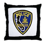 Riverside PD Throw Pillow