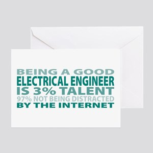 Good Electrical Engineer Greeting Card