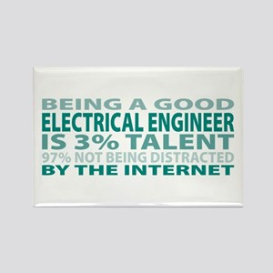 Good Electrical Engineer Rectangle Magnet