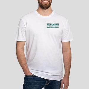 Good EEG Technician Fitted T-Shirt