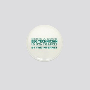 Good EEG Technician Mini Button