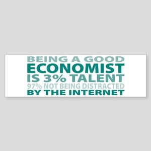 Good Economist Bumper Sticker