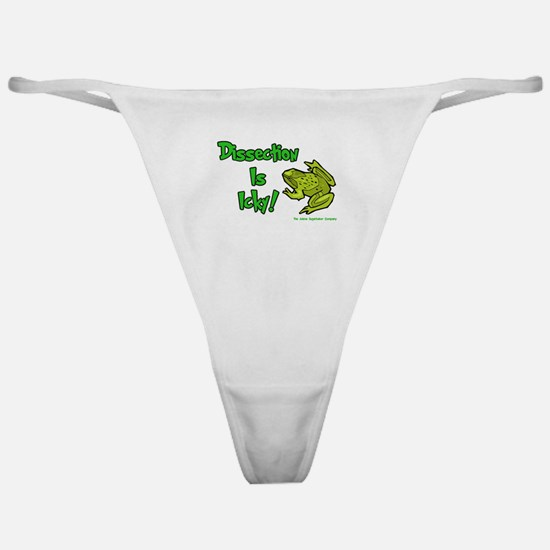 Dissection Is Icky: Frog Classic Thong