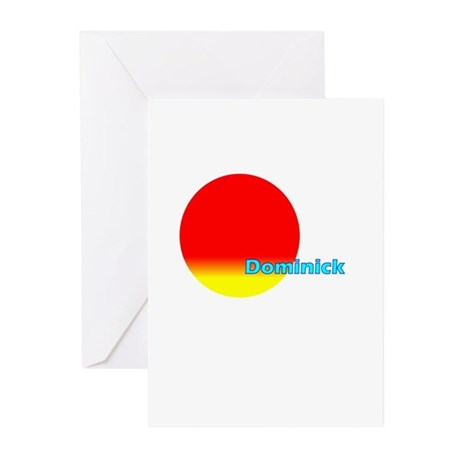 Dominick Greeting Cards (Pk of 20)