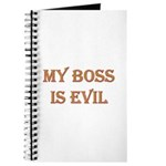 My Boss is Evil Journal
