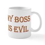 My Boss is Evil Mug