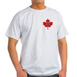 Masonic Canadian Ash Grey T-Shirt