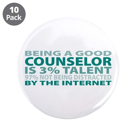 """Good Counselor 3.5"""" Button (10 pack)"""