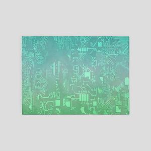 computer board 5'x7'Area Rug