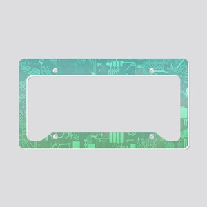 computer board License Plate Holder