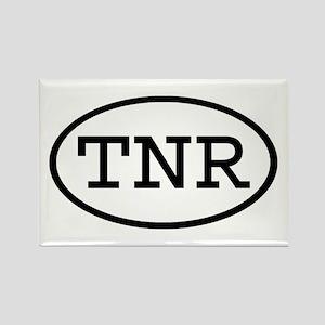 TNR Oval Rectangle Magnet