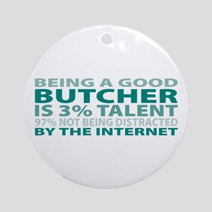 Good Butcher Ornament (Round)