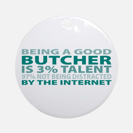 Good Butcher Ornament (Round)