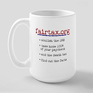 Fair Tax Large Mug