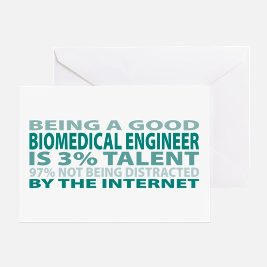 Good Biomedical Engineer Greeting Card