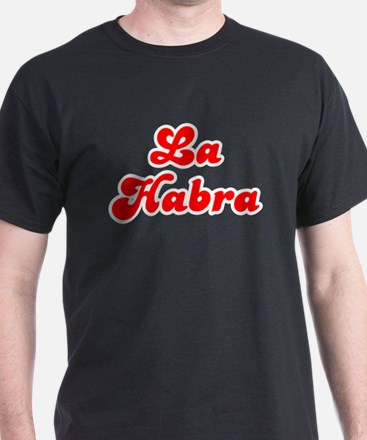 Retro La Habra (Red) T-Shirt
