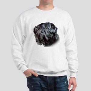 Black Russsian terrier Sweatshirt
