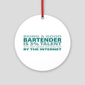 Good Bartender Ornament (Round)