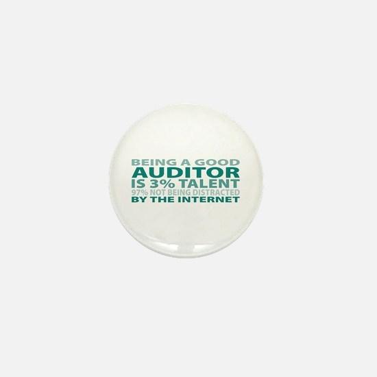 Good Auditor Mini Button